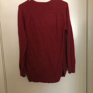 Old Navy Sweaters - Dark red cardigan.